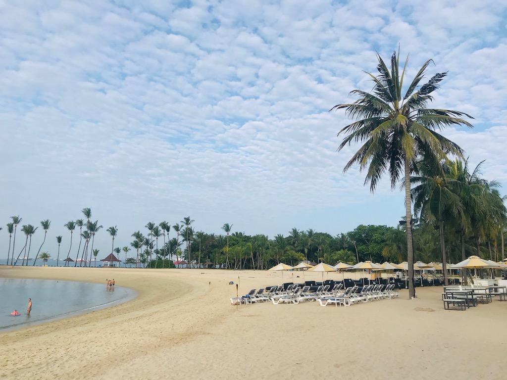 シンガポールのビーチでクロスフィットもできるようになりました