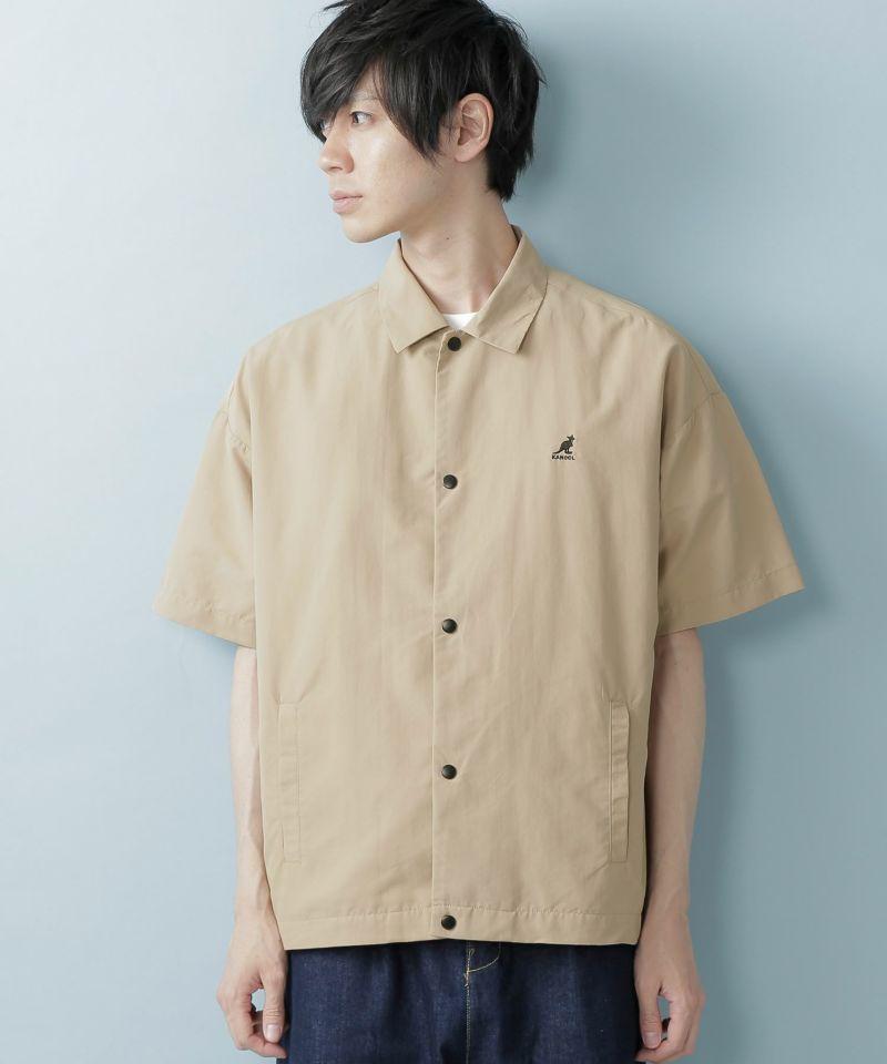 KANGOL:カンゴール 別注 オーバーサイズ コーチシャツジャケット (1:2 sleeve)(2)