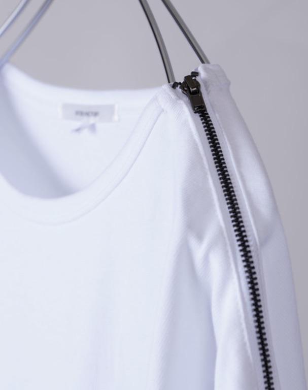 INTER FACTORY ショルダージップスーパービッグTシャツ
