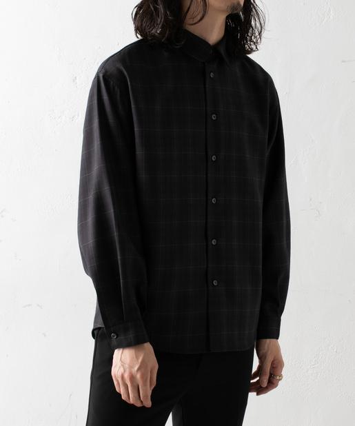 Lui's NEW 袖ボリュームチェックシャツ(1)