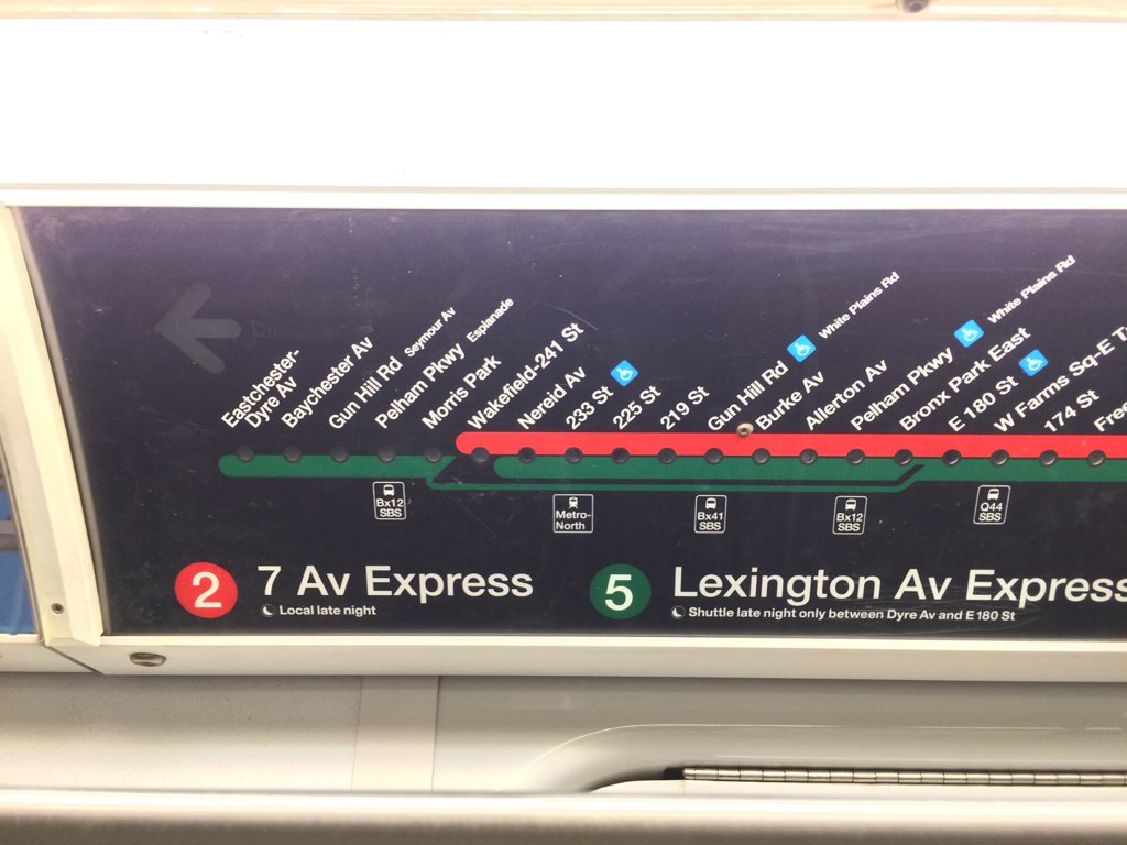 光っている駅と次つく駅が違うことがあるので注意!