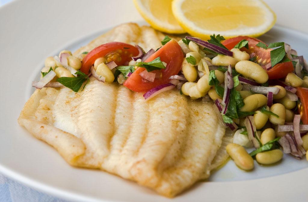 地中海食ー鶏肉・魚料理中心ー