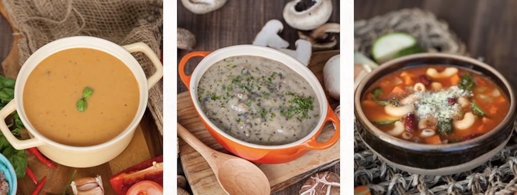 Soup Spoonのスープメニュー