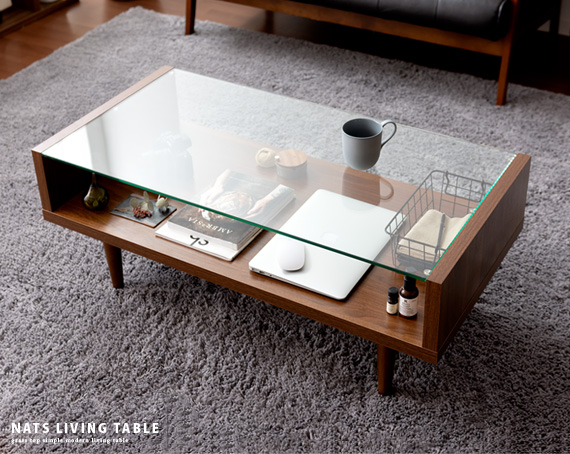 ガラスのテーブル、違う意味でもガラスのテーブル