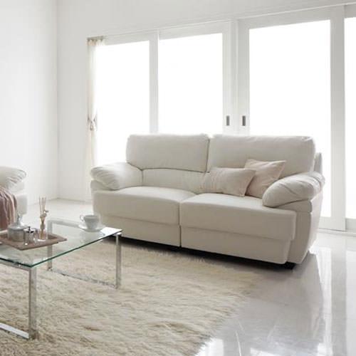 白色のソファイメージ図