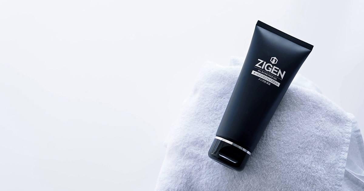メンズスキンケアおすすめ洗顔料「ZIGEN オールインワンフェイスジェル」