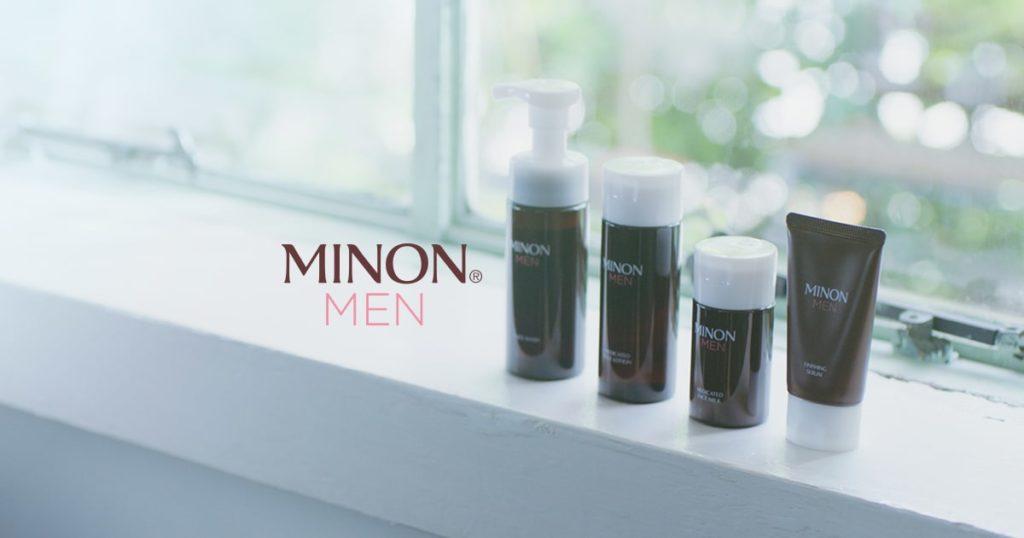 メンズおすすめ乳液:MINON MEN(ミノン メン) 薬用フェイスミルク