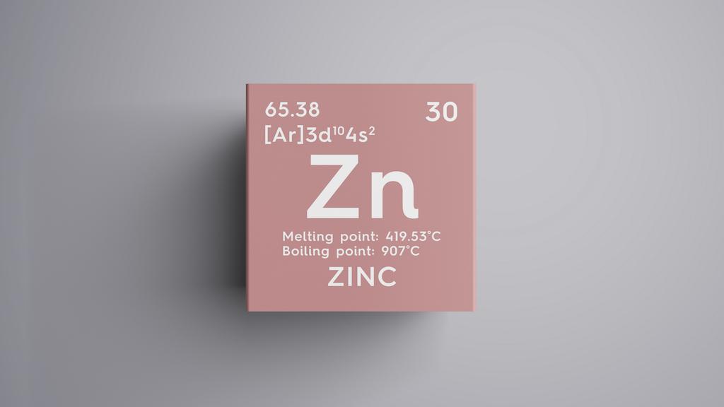 体に欠かせない栄養素の亜鉛。英語ではZinc