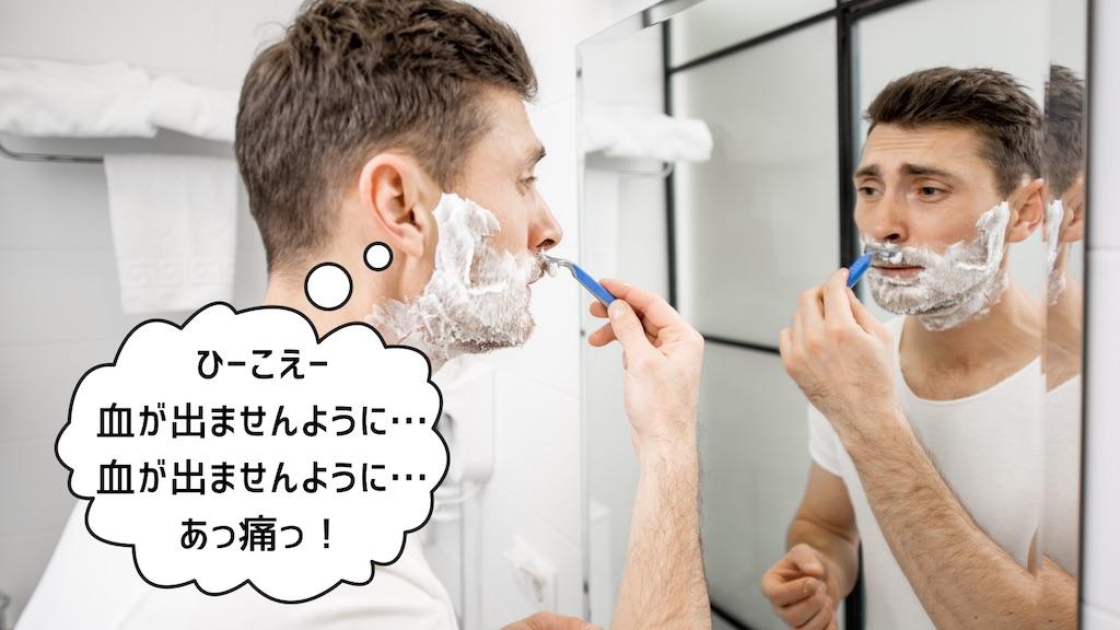 髭剃りは肌の炎症=大人ニキビの原因のもと!洗顔の「抗炎症作用」に注目!