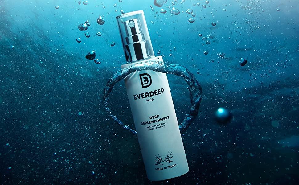 敏感肌の男性へおすすめメンズオールインワン化粧水:EVERDEEP オールインワンジェル メンズ