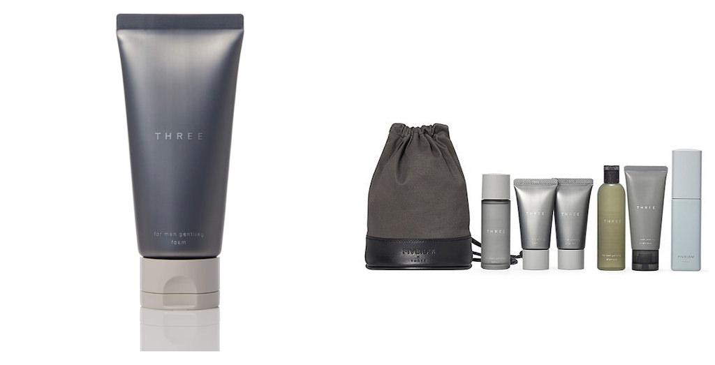 オイリー肌におすすめメンズ洗顔:THREE フォー・メン ジェントリング フォーム