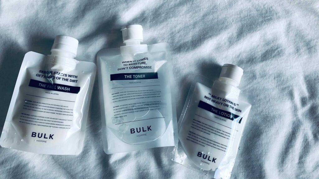 バルクオムの洗顔を使うなら最低限一緒に化粧水で保湿ケアしよう!